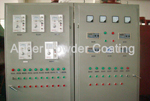 Control cabinet for roll mesh PVC coating line